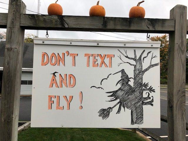 Sign Design: Don't